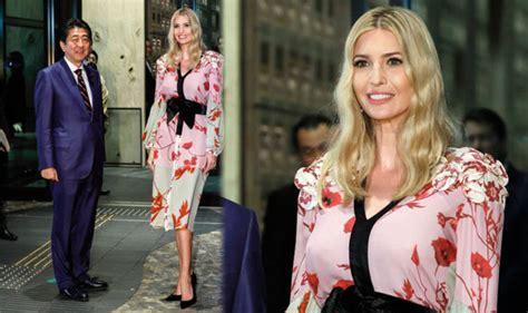 hope hicks japan outfit ivanka trump news donald s daughter wears japanese