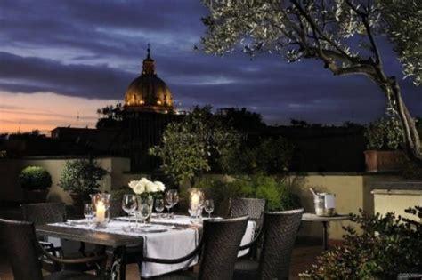 d inghilterra hotel d inghilterra roof garden per il ricevimento