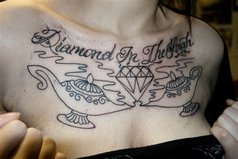 diamond in the rough tattoo designs tattoos