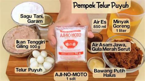 cara membuat empek empek dapur umami dapur umami pempek telur puyuh youtube