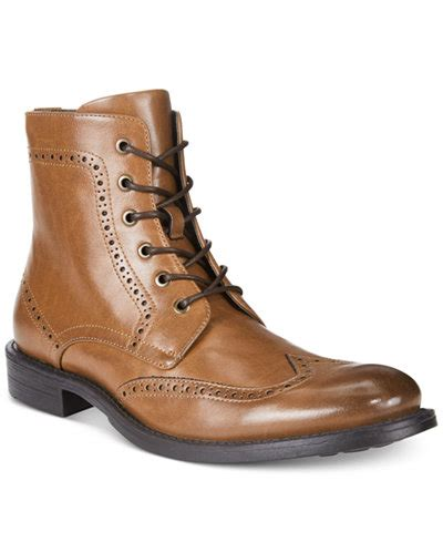 kenneth cole boots mens unlisted by kenneth cole s blind sided wingtip