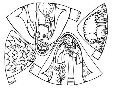 printable nativity scene cutouts 1000 images about nativity inspiration on pinterest