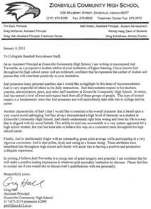 principal hall s letter of recommendation joel trewartha