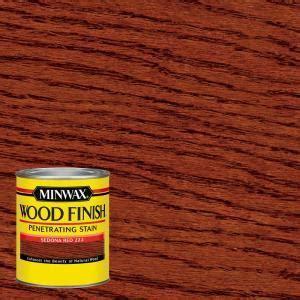 Minwax 1 qt. Wood Finish Sedona Red Oil Based Interior