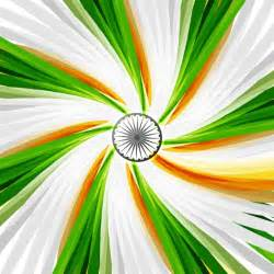 indian flag colors tricolor swirl in indian flag colors vector free