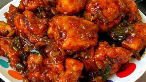 chilli chicken recipe how to make easy chilli chicken