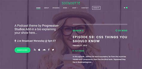 themes podcast generator bashooka web graphic design