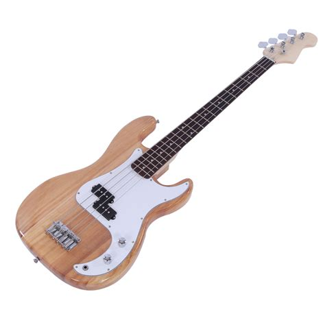 bass guitar templates new professional yellow 4 string electric bass guitar ebay
