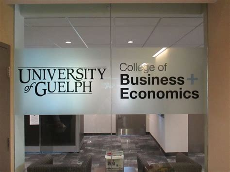 College Of Management And Economics At Guelph Mba by Wall Decals And Window Speedpro Canada