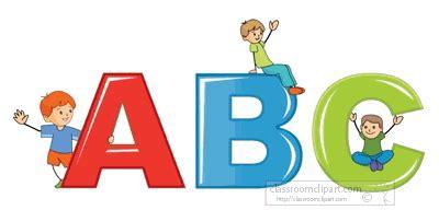 Education School Animated Clipart: abc kids animation 1