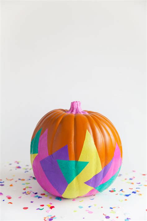 Paper Pumpkins - no carve pumpkin decorating ideas for thanksgiving and