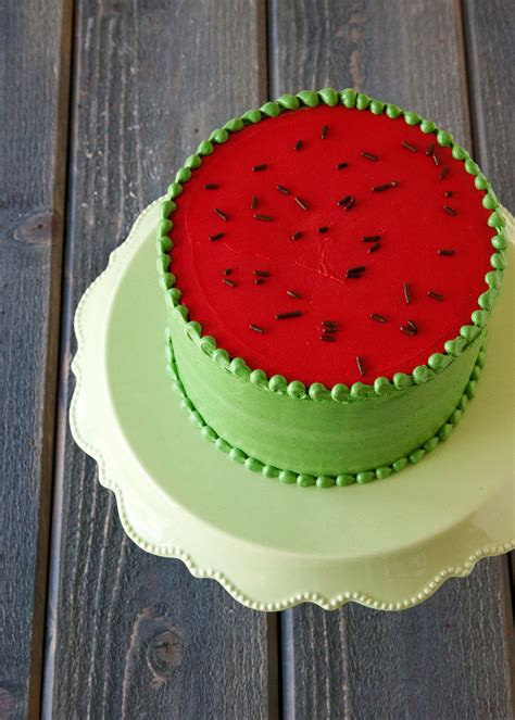 Watermelon Cake Decorating Ideas by How To Make A Watermelon Cake Style Sweet Ca