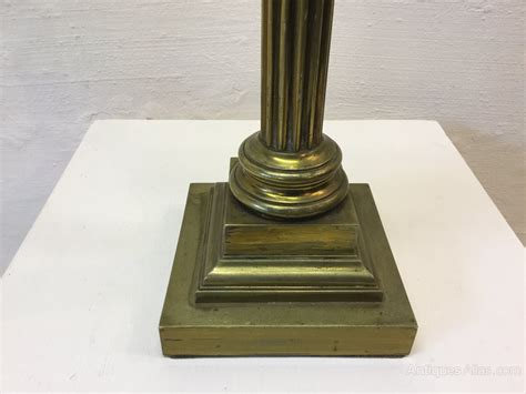 Vintage L Bases by Antiques Atlas Unusually Antique Brass L Base