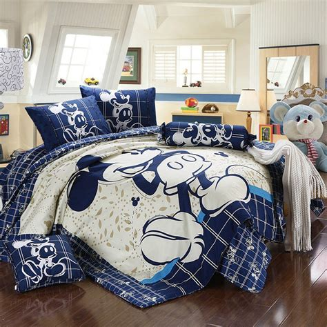 mickey mouse bedding sets   grown  disney lover