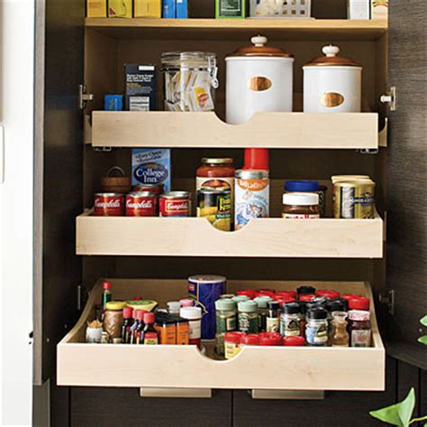 how to deal with pantry pull out shelves live simply by