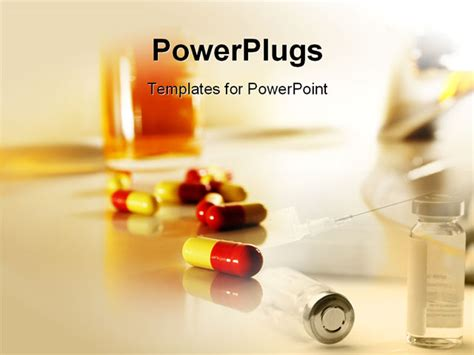 powerpoint templates free download drugs powerpoint template pills and injection for healthier