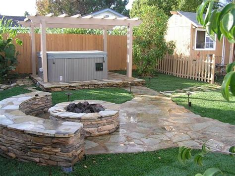 spectacular backyard pit grill ideas plus garden