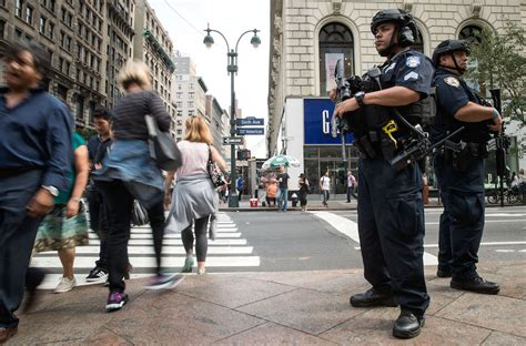 Standing Guard At The New York Library by Israel Doesn T Do Ethnic Profiling The Way Donald