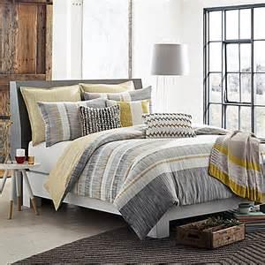 kas duvet cover buy kas room logan duvet cover in grey yellow from