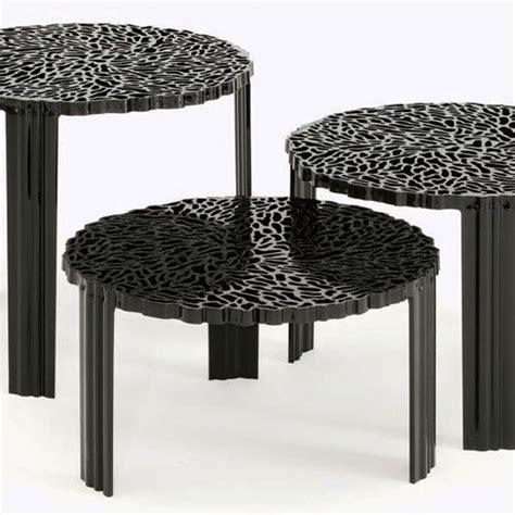 table basse t table h28cm kartell hauteur 28 cm opaque