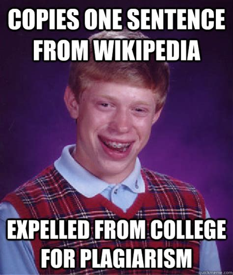 Memes Wikipedia - jimmyfungus com bad luck brian destroys sean hannity
