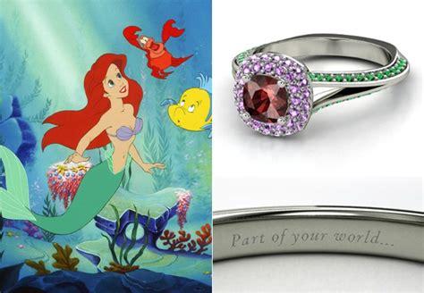 disney engagement rings disney princess photo 36819075