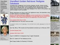 standfast golden retriever pedigree database standfastdata co uk standfast golden retriever pedigree database