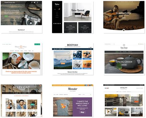 godaddy templates godaddy store website builder review for 2017