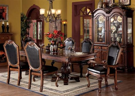 chateau de ville dining table by acme
