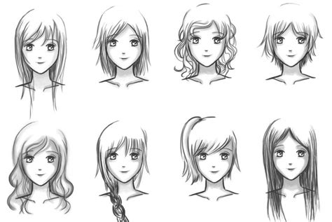 hairstyles drawing girl manga girl hairstyles google search art crafts
