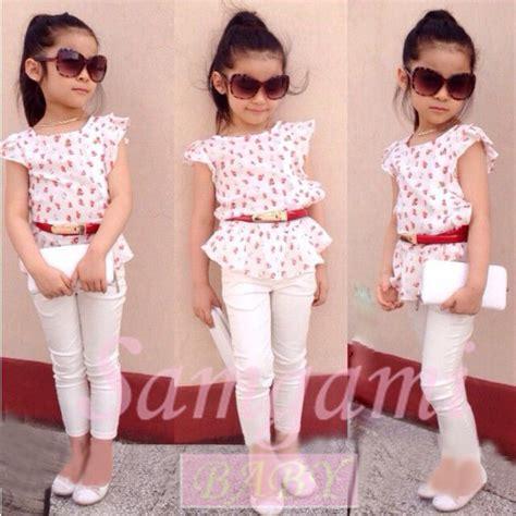 Set Modas Kid 2015 new fashion baby clothing set clothes