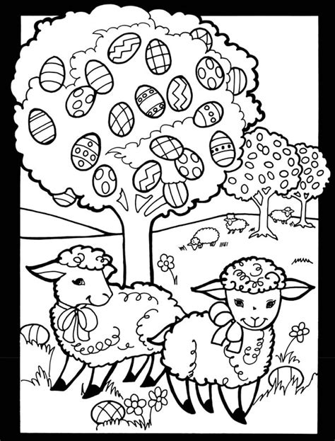Welcome To Dover Publications Tree Stained Glass Coloring Page