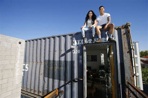 Building The Best Bussines Way large shipping containers are being turned into apartments times free press
