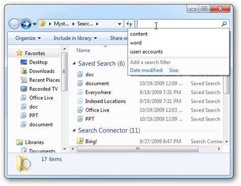 where is the search box in windows 7 tip disable search history display in windows 7