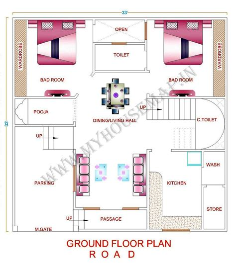 inspirations simple home map plan and maps design for