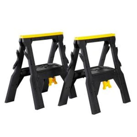 workforce 28 in folding sawhorse pack 17182238