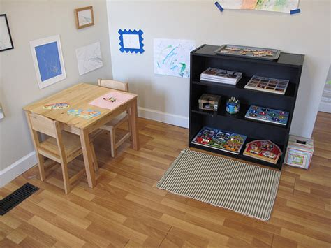 how to prepare a montessori toddler environment at home
