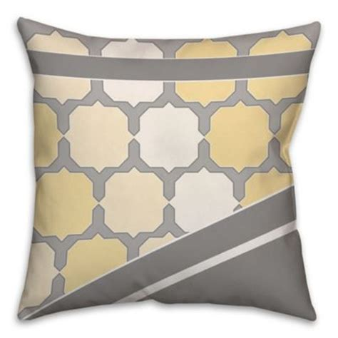 yellow bed pillows buy yellow bed decorative pillows from bed bath beyond