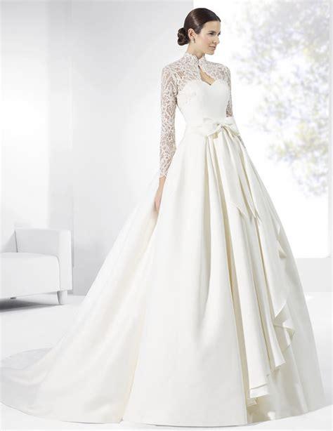 imagenes de vestidos de novia con olanes los vestidos de novia con manga larga verano 2018 m 225 s