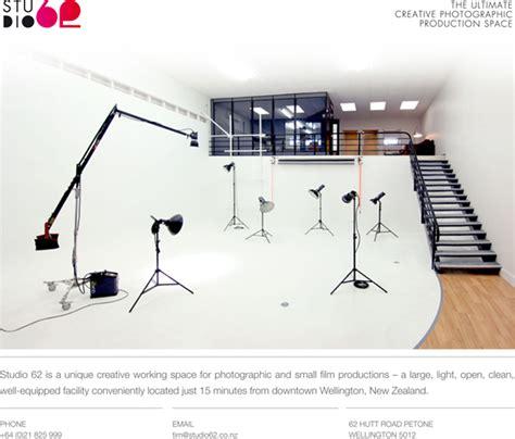 photography lighting layout studio hire wellington new zealand