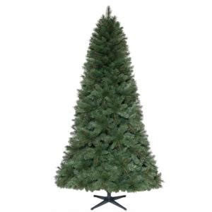 15 ft pre lit led wesley pine artificial christmas tree home accents 7 5 ft unlit wesley mixed spruce artificial tree tg76m5304x00