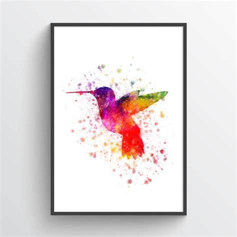 hummingbird posterhummingbird print hummingbird