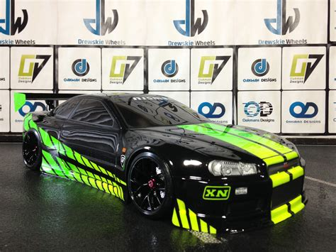 nissan skyline 2014 custom paul walker nissan gtr skyline r34 oak man designs