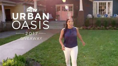 Www Hgtv Com Urbanoasis Sweepstakes - 2017 hgtv urban oasis giveaway tv commercial new life featuring egypt sherrod