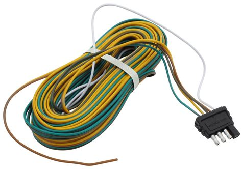 4 pole flat trailer connector wiring diagram wiring