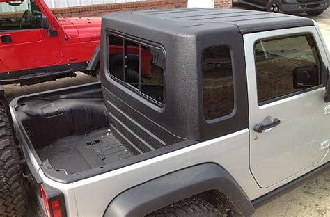 2013 Jeep Wrangler Unlimited Hardtop Storage by Recruit 2 Door Jk Half Hardtop Kit Gr8tops