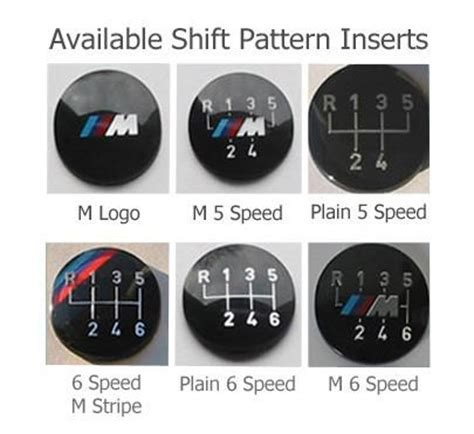 gear shift pattern for unicorn zhp short shift knob leatherz