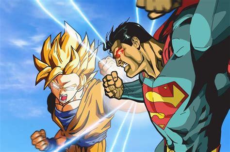imagenes de goku al limite goku vs superman 191 qui 233 n ganar 237 a esta batalla vix
