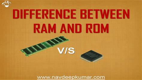 function of rom and ram difference between ram and rom