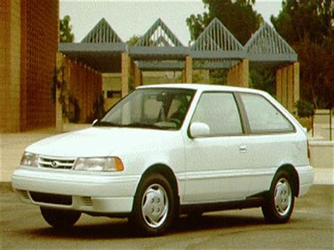 1994 hyundai excel hatchback 2d pictures and videos kelley blue book